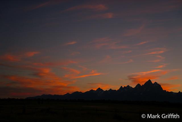 Grand Teton Sunset