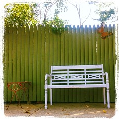 furniture, picket fence, wood,