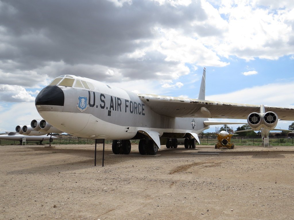 Boeing Stratofortress B-52B National Museum of Nuclear Science & History.     Albuquerque, New Mexico  2ag14_799