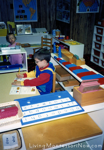 Chitwood Montessori Homeschool Classroom, 1991