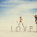 Burning Man 2014 - Love Sculpture by Bo Deng