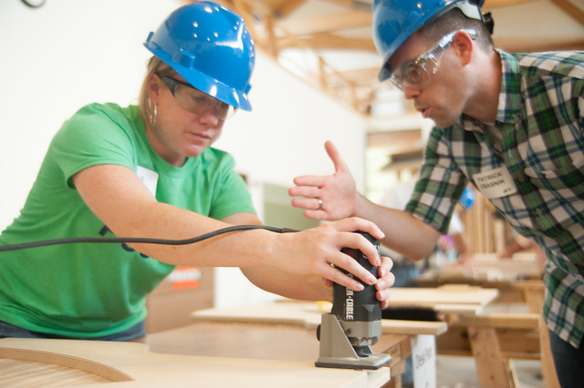 Ed.D. Program Kick-Off Event at Greater PA Carpenters Union Training Center