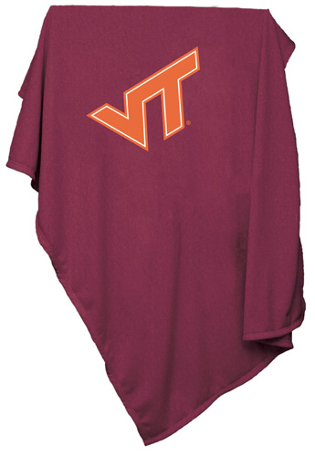 Virginia Tech Hokies NCAA Sweatshirt Blanket