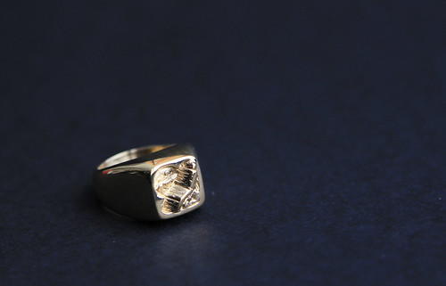 Custom Signet Ring - Broken Tooth Entertainment