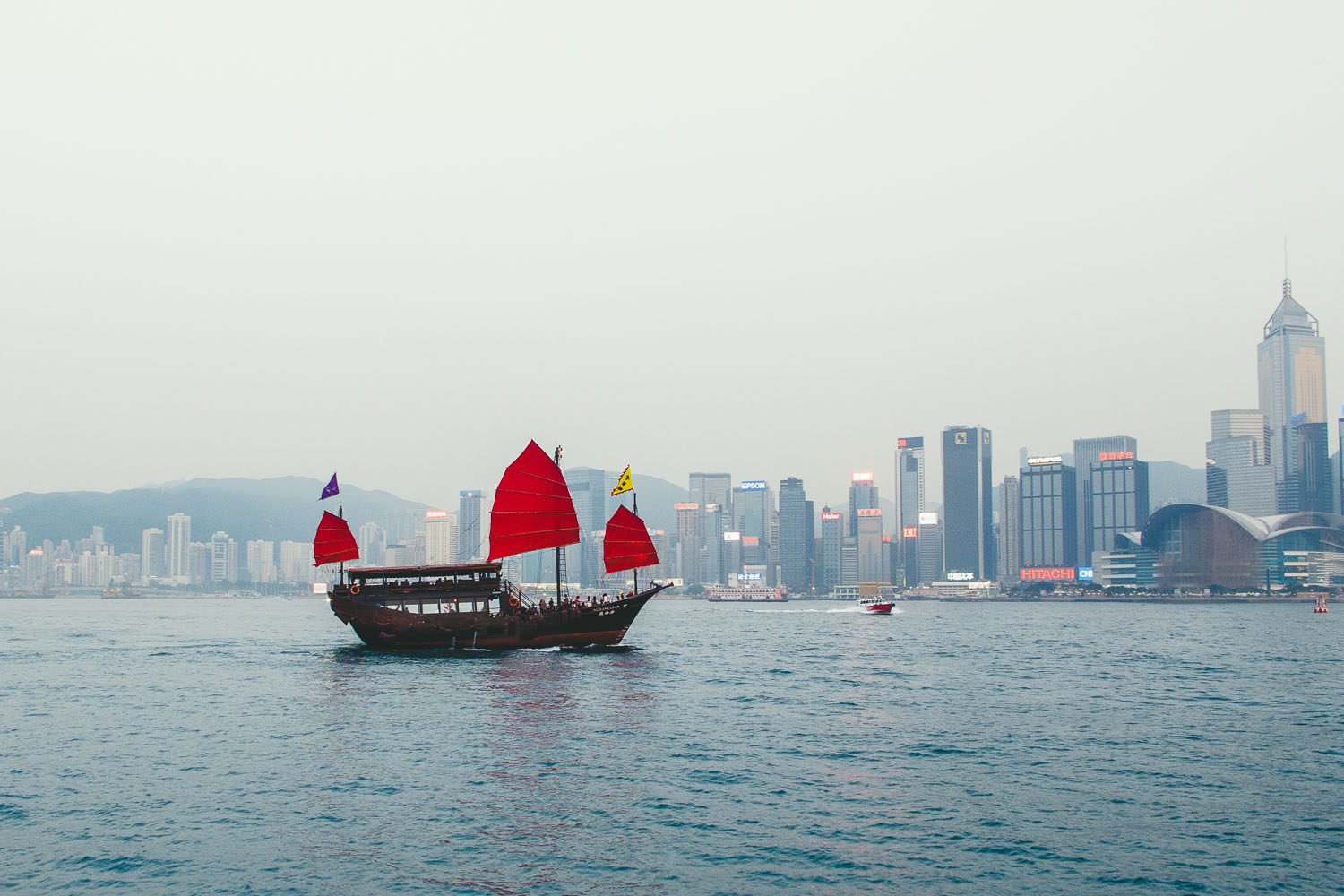 Hong Kong Harbour Victoria Harbour