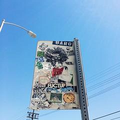 #slaptag #pasteup #graffiti #lagraff #losangelesgraffiti #losangeles #vscocam #vsco