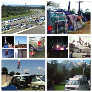 4 weeks - 2 vanagons - 2 festivals - 3 countries - 5 spots.http://ourvwcamper.blogspot.com Campervan trip - Experienced Camping (#woa2014) - Assisted Camping (alps) - VIP experienced camping (#rnh2014) - assisted living (Italy)