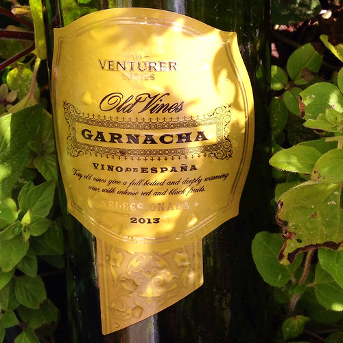Venturer Series, Old Vines, Garnacha 2013. Aldi wine.