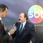 Debate dos candidatos à presidência no SBT
