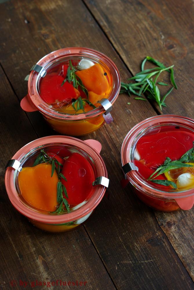 Paprika in Estragonsud by Glasgeflüster 3 klein