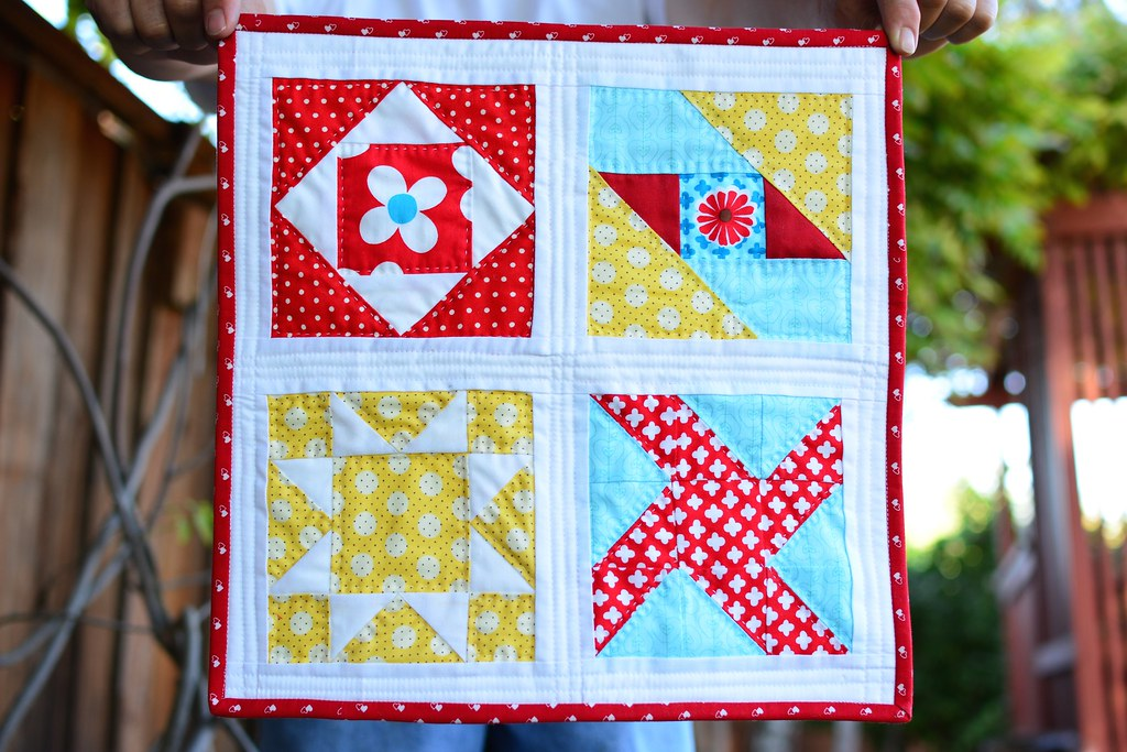The Farmer's Wife Mini Quilt