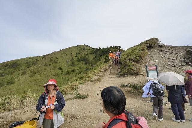 合歡山北(西)峰登山口