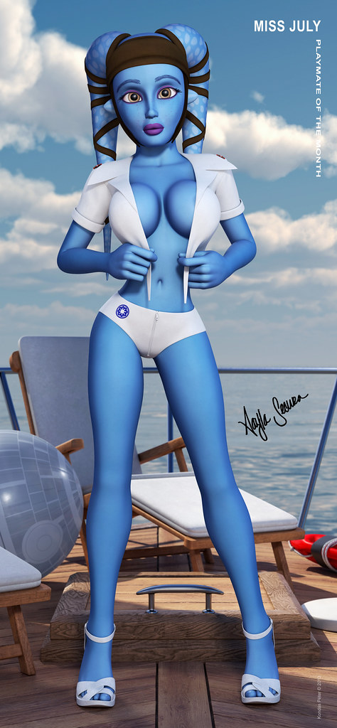 Properties turns aayla secura nackt