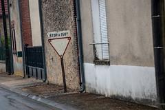 Ancien panneau de signalisation - Photo of Broussy-le-Grand