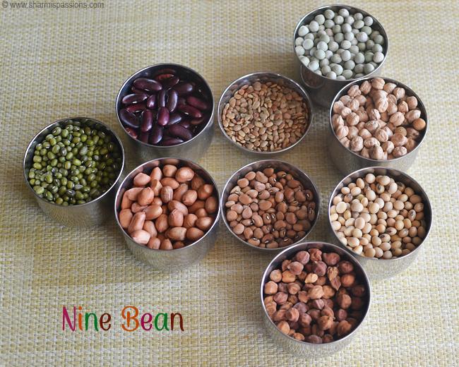Navaratna Sundal Recipe