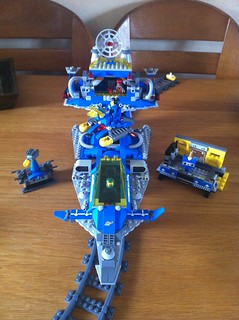 Benny's spacetrain spacetrain SPACETRAIN!!!
