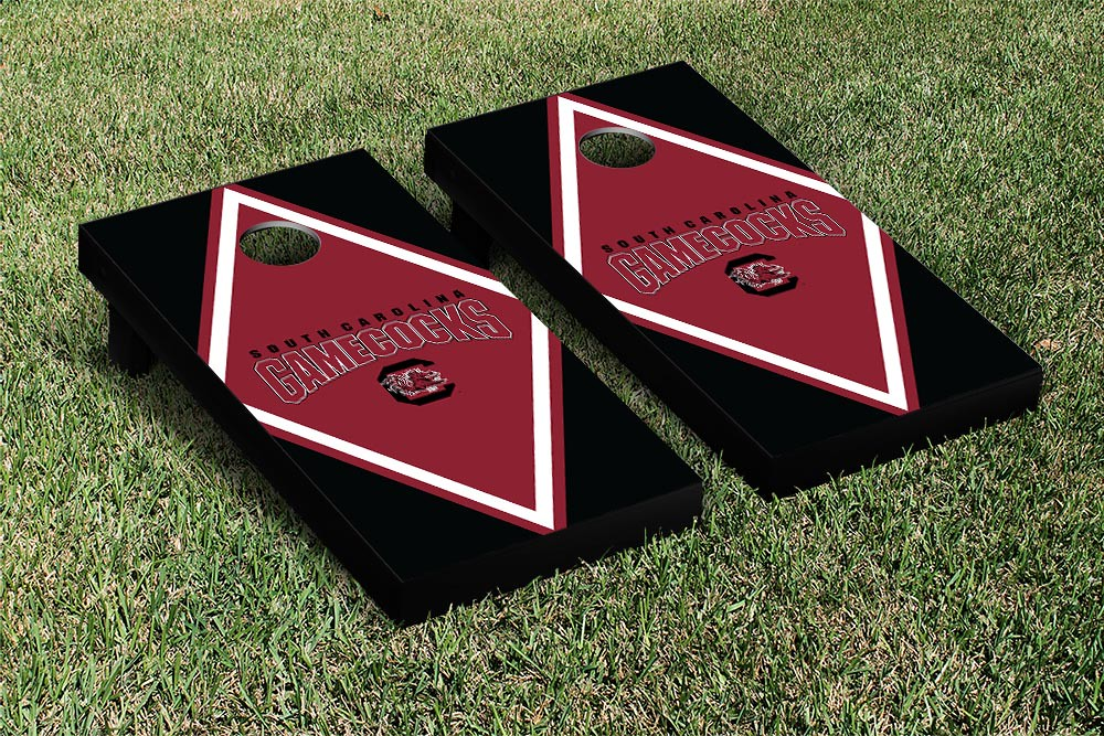 South Carolina Gamecocks Cornhole Game Set Diamond Version