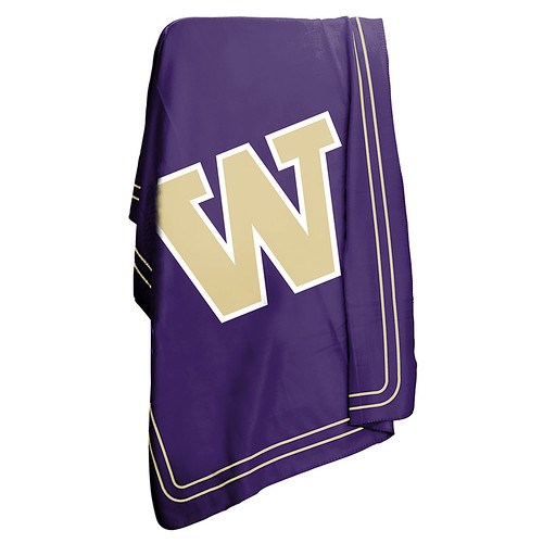 Washington Huskies NCAA Classic Fleece Throw