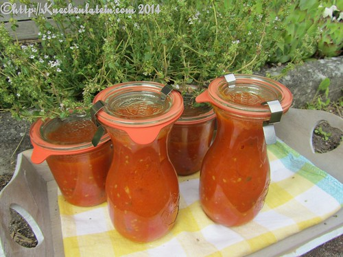 ©Ofengeröstete Tomatensauce für den Vorrat (3)