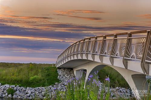 park bridge wisconsin sunrise landscape dawn nikon cityscape state milwaukee lakeshore markadsit