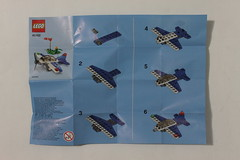 LEGO Store September 2014 Monthly Mini Build Event Racing Plane (40102)