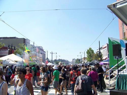 Crowd shot, H Street Festival, September 20th, 2014