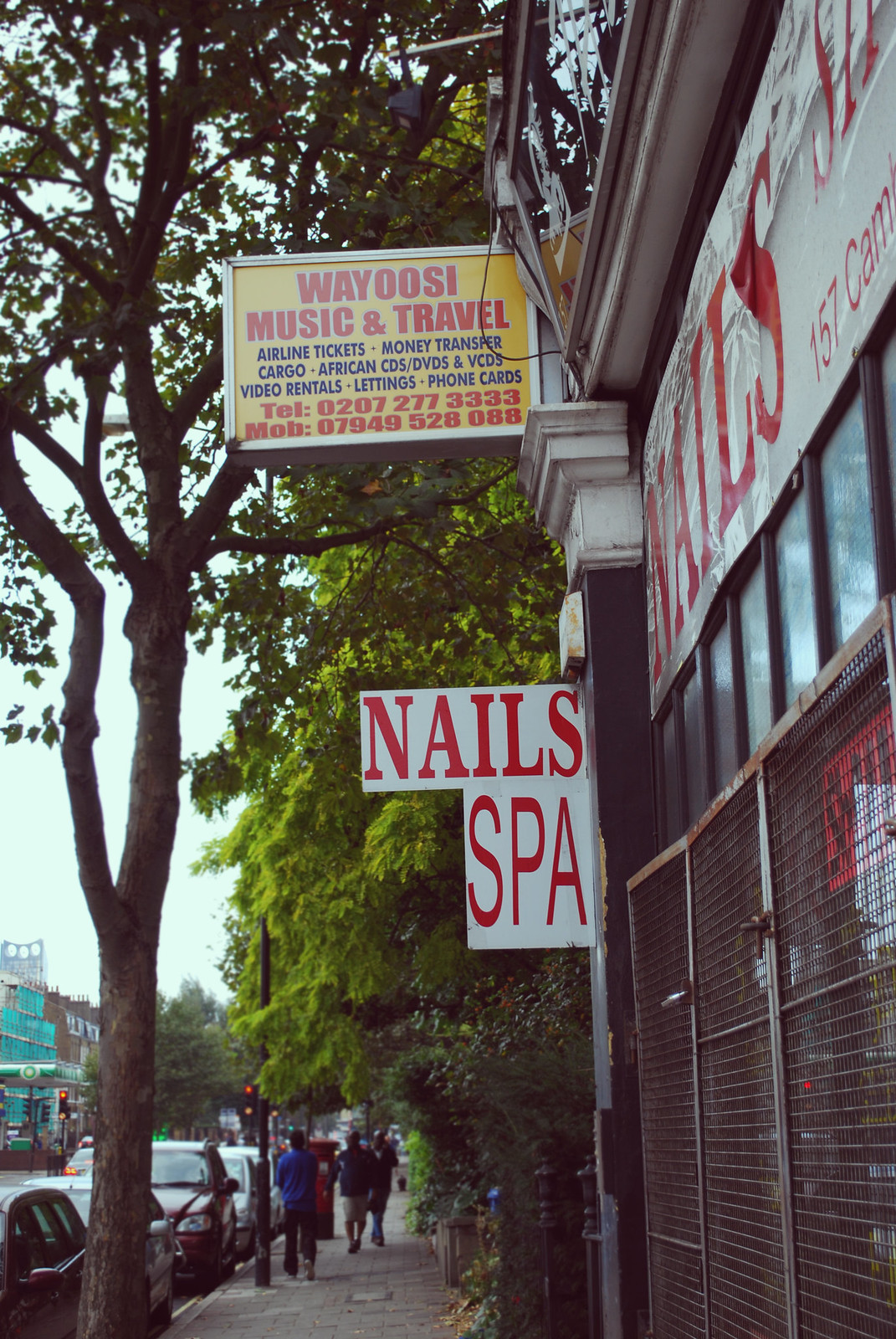 South London nail bar