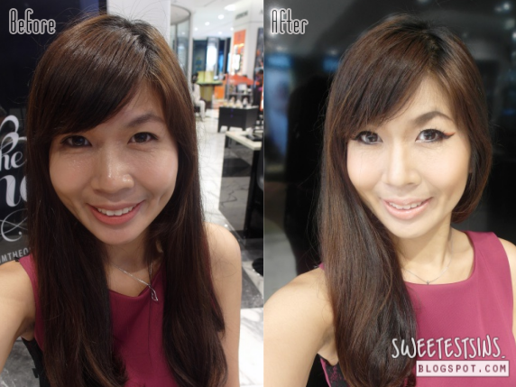 illamasqua makeover before and after