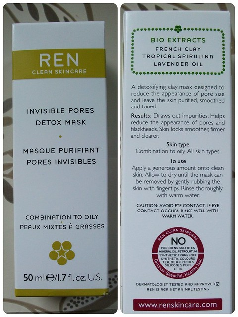Ren Invisible Pores Detox Mask Review