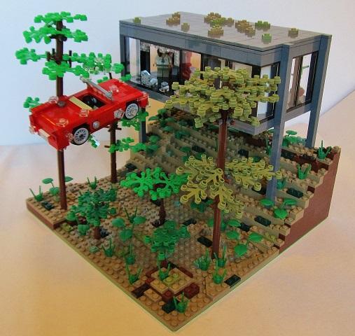 Moc Ferris Bueller S Day Off Lego Town Eurobricks Forums