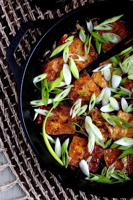 Herbivoracious : Caramel-Cooked Tofu