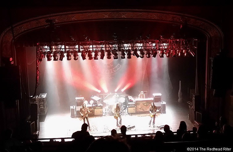 Blackberry Smoke Southern Rock Concert, Richmond, Virginia  20140115_220620