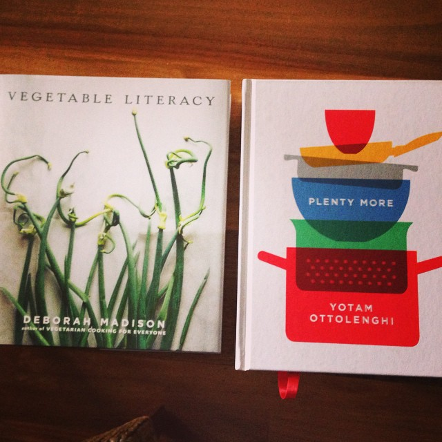 These two books will make eating more vegetarian meals VERY easy #Ottolenghi #vegetarian