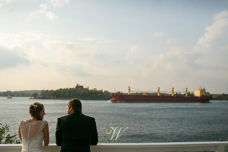 Alexandria Bay 1000 Islands NY Destination Wedding Photographer Outdoor Boldt Bonnie Castle Resort NY Andrew Welsh film