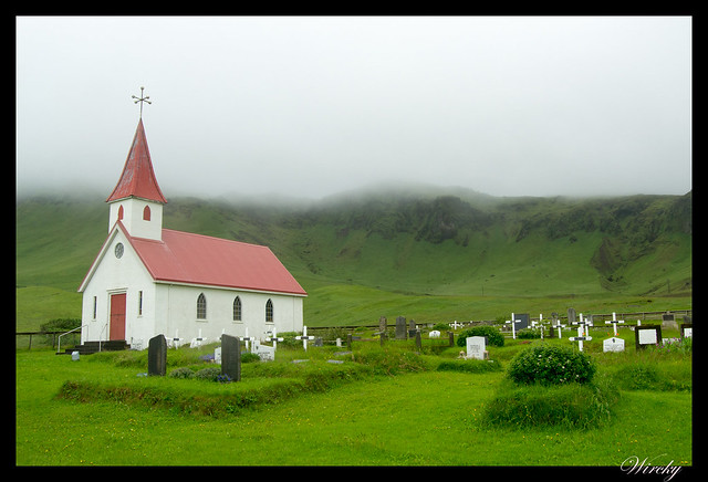 Islandia Vík Eldhraun Skaftafellsjökull Svartifoss Jökulsárlon - Iglesia Reyniskirkja
