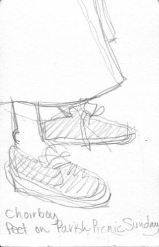 choirboy feet