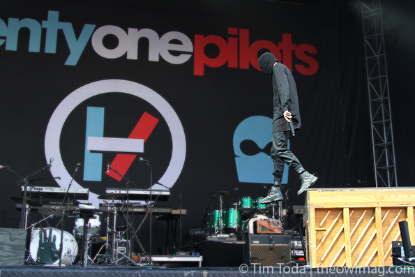 Twenty One Pilots @ Boston Calling 2014, Sunday
