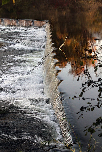 autumn ontario water river flow dam almonte ilobsterit