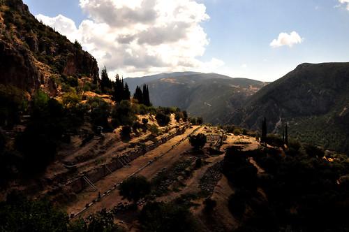 view delphi panoramic palestra gymnasium