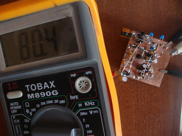 dc-dc converter set it to 80[V]