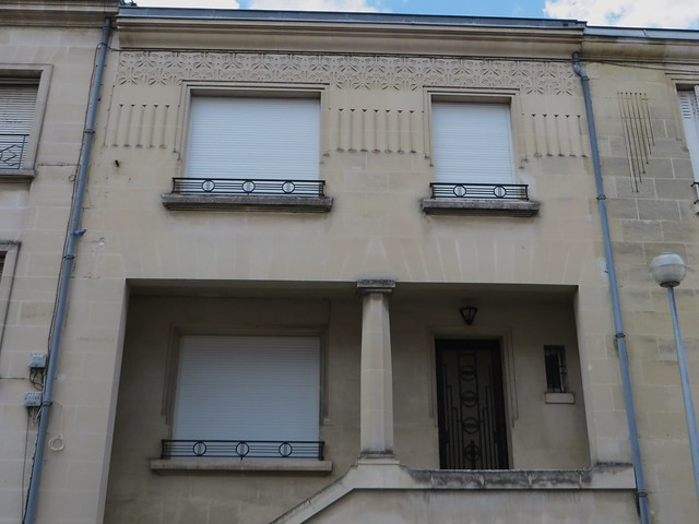 Maison art deco rue des c dres quartier lescure for Decoration maison bordeaux