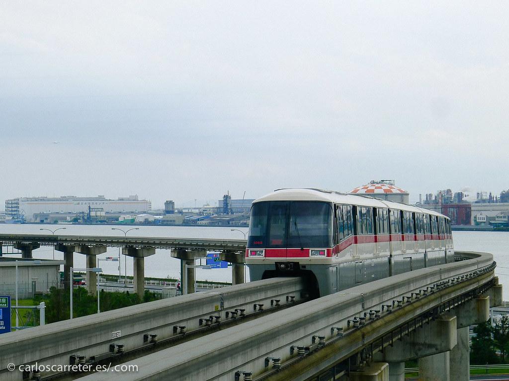 Monorrail del aeropuerto de Haneda - Tokio