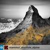 #Repost from @mammut_absolute_alpine:  Join our live ticker of the #Matterhorn key visual shooting tomorrow! 16.09.14: Twitter & Instagram: #Matterhorn150