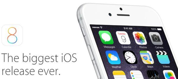 Скачать iOS 8 для iPhone и iPad