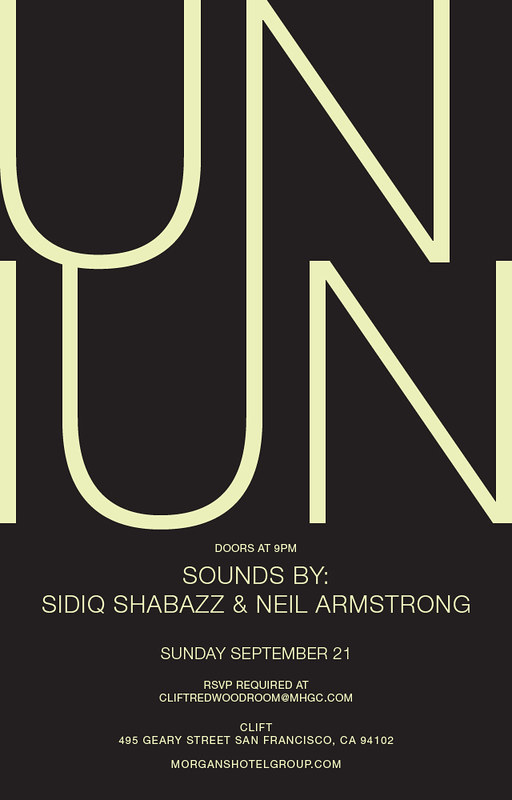 Uniun - Sunday from 9pm - 2 am