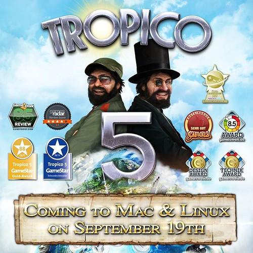 Tropico 5 Linuxra, OS X-re