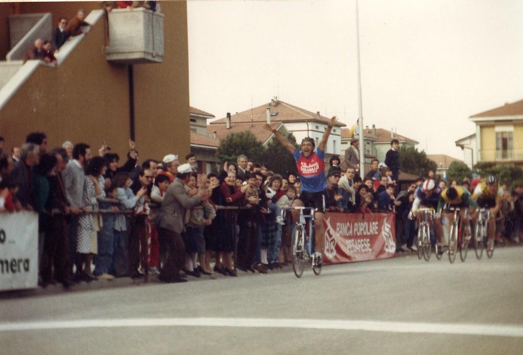 Vittoria nel VI Memorial Cialdini (1986)