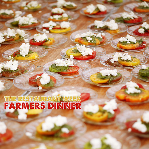 The Restaurant Week Farmers Dinner