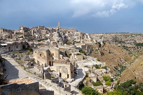Matera a surreal city ( Basilicata - Italy)