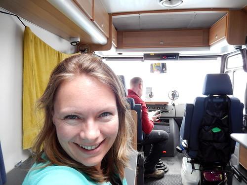 Rab island - op de ferry naar Krk